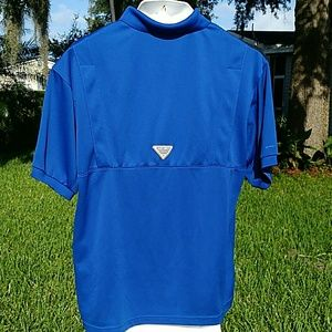 Columbia Shirts - Florida Gators Columbia PFG Vented Polo